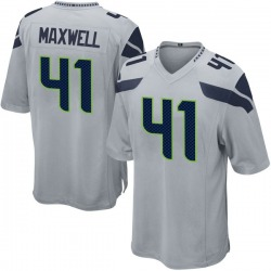 Byron Maxwell Seattle Seahawks No.41 Game Alternate Jersey - Gray