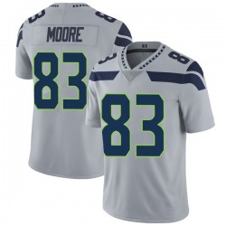David Moore Seattle Seahawks No.83 Limited Alternate Vapor Untouchable Jersey - Gray