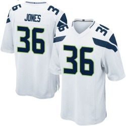 Youth Anthony Jones Seattle Seahawks No.36 Game Jersey - White